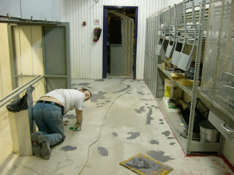 Plancher Bowater en cours
